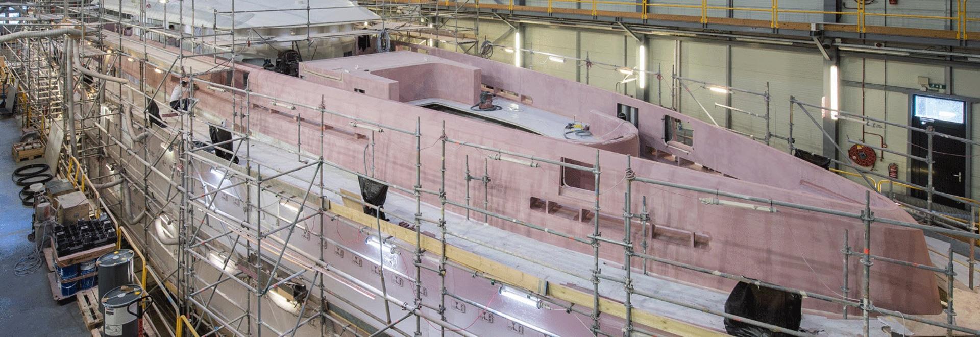 Im Inneren Heesen's In-Build Superyacht Projekt Altea