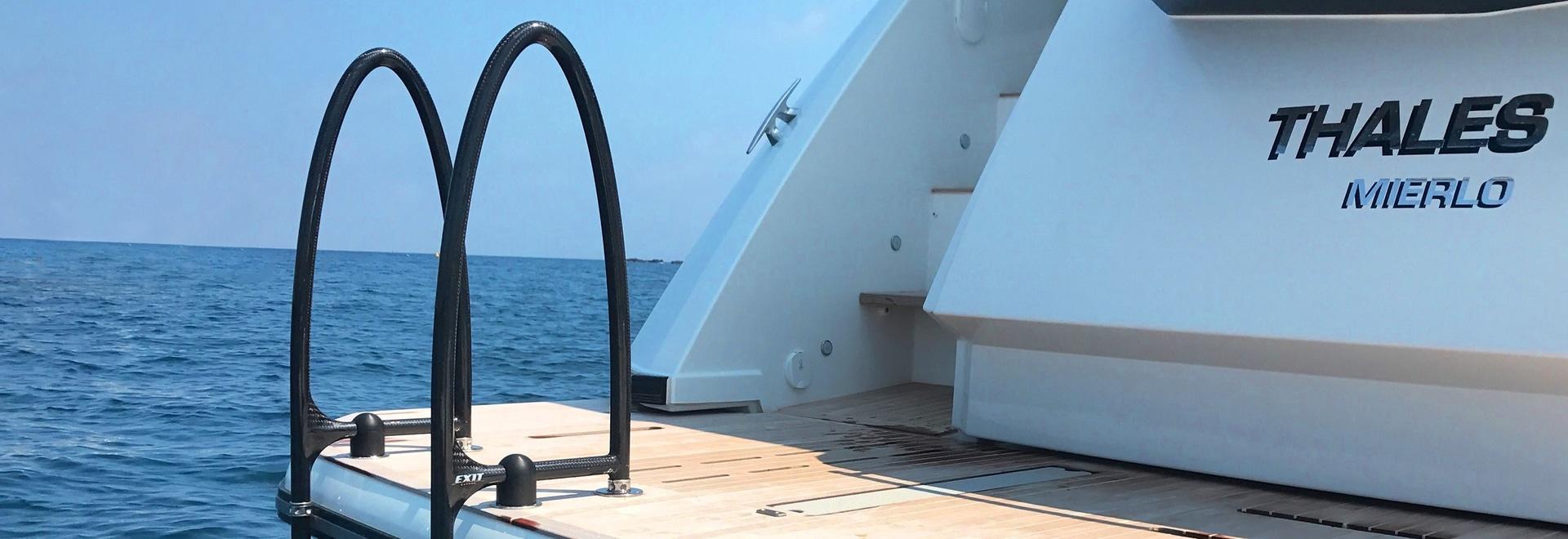 Leitersystem Ausstieg Carbon