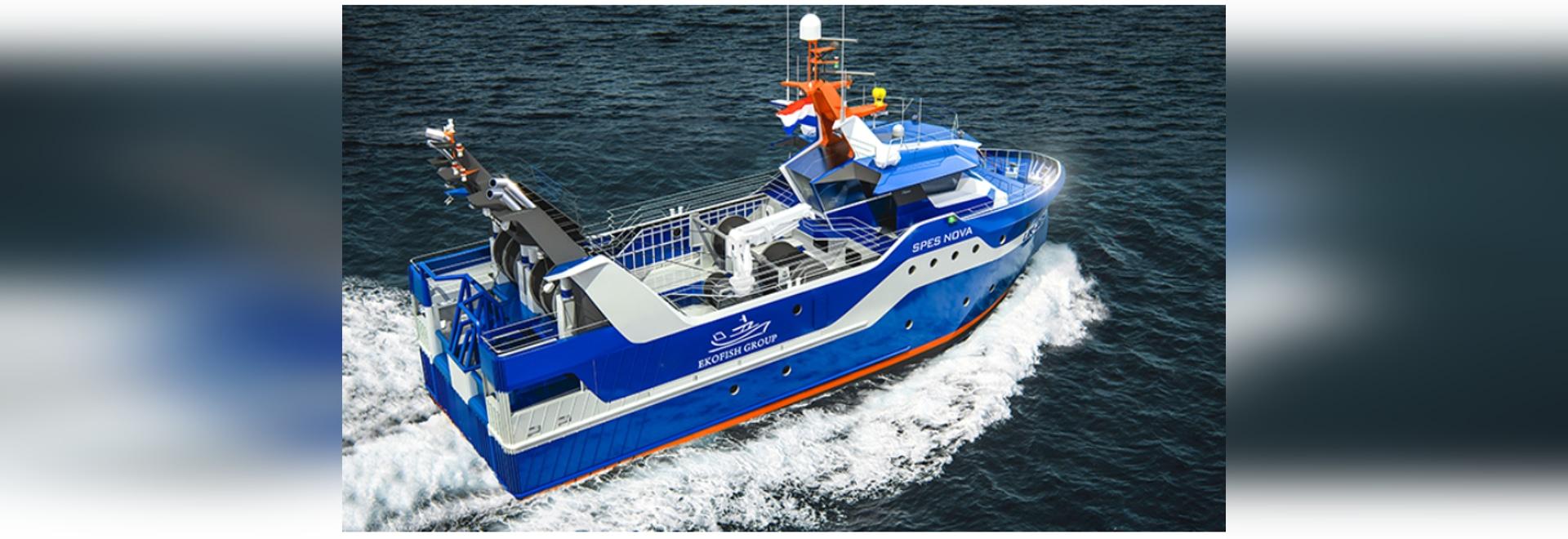 Lieferanten Ekofishs des neuen dieselelektrischen Fischereifahrzeuges kündigten an