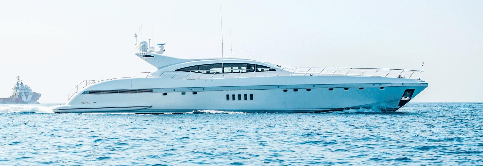 Neu auf dem Markt: 33m Übersee-Motoryacht Yalla