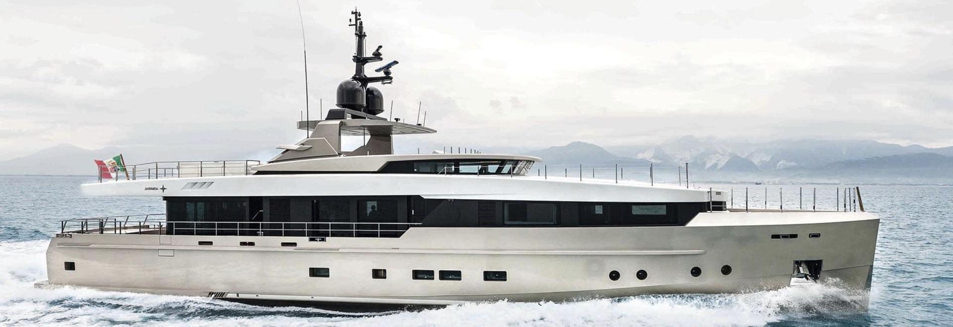 NEU: Forscher Super-yacht durch Admiralyachten
