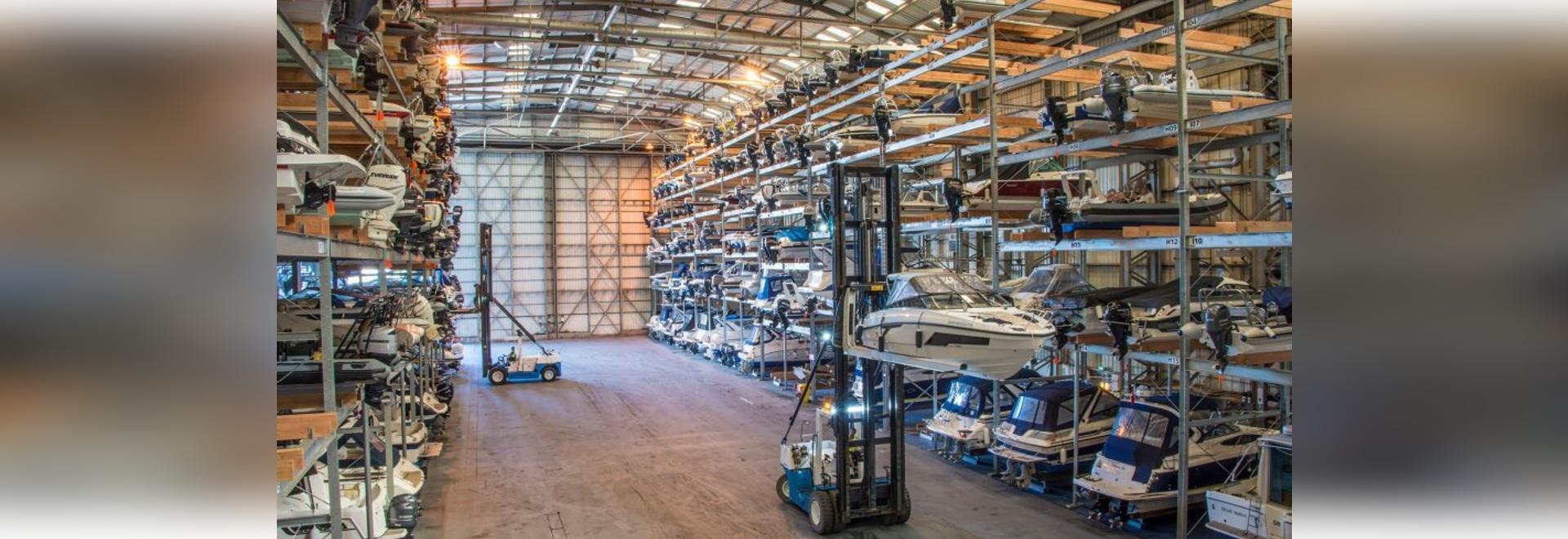 Programm zur kostenlosen Lagerung von Booten soll den britischen Bootsverkaufsmarkt ankurbeln