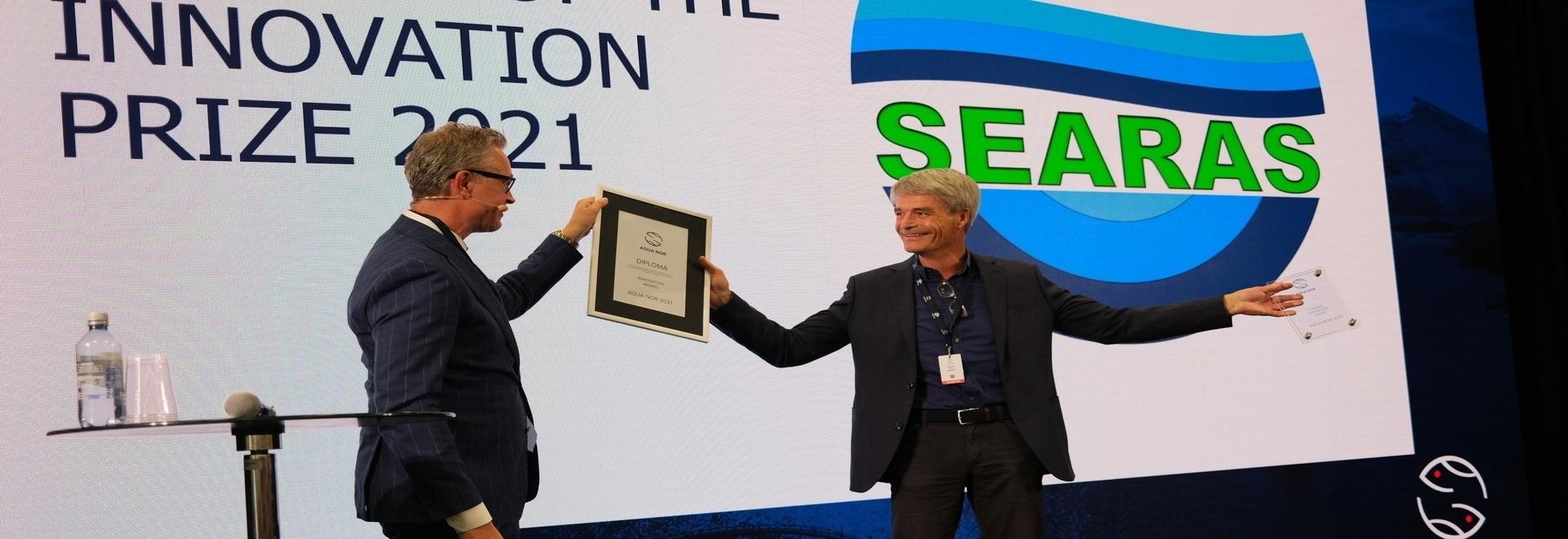 RAS-Gaswarngerät gewinnt Aqua Nor Innovationspreis