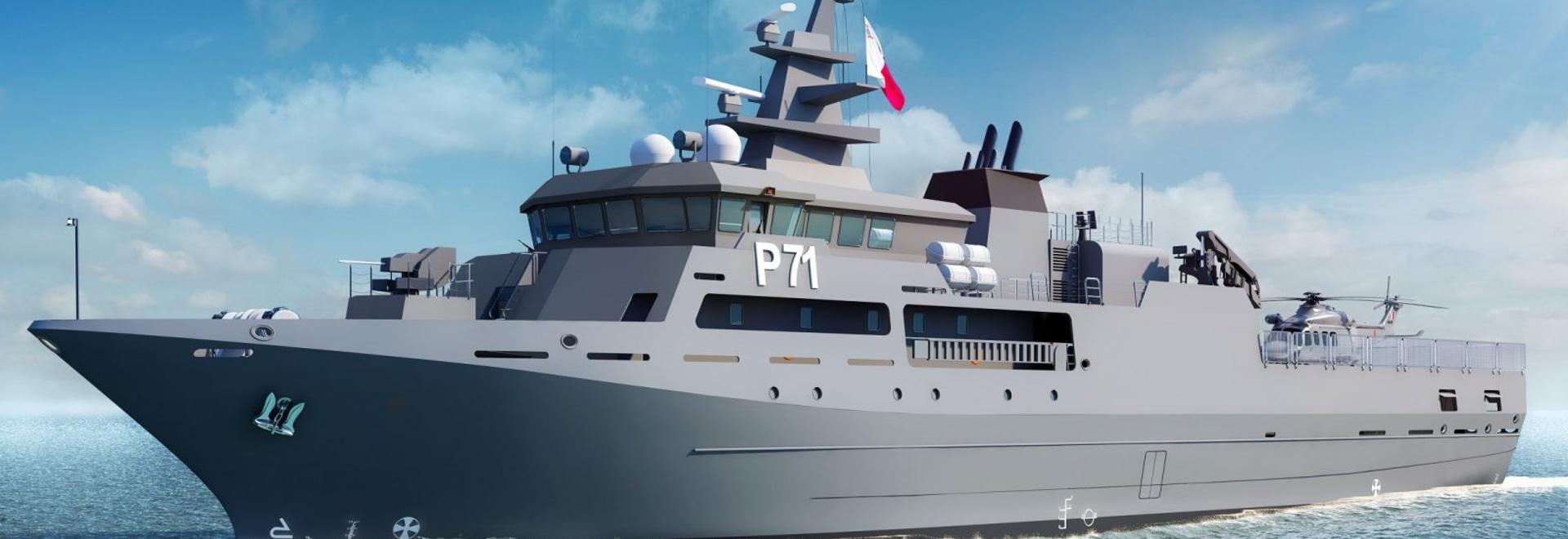 Rolls-Royce erhält Auftrag zur Lieferung eines Antriebspakets für ein neues Patrouillenschiff für Malta