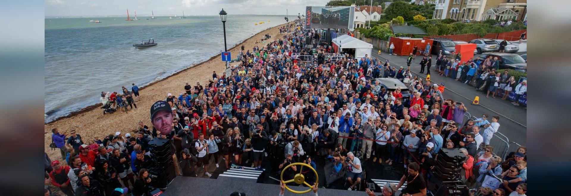 SailGP kehrt zum ersten europäischen Event in der zweiten Saison nach Großbritannien zurück