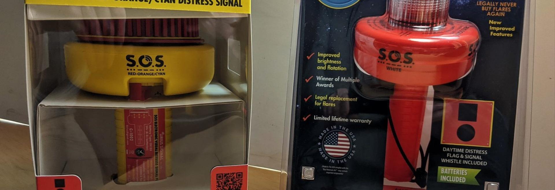 Sirius-Signal C-1002 & C-1003 SOS-Notsignal-Tests beginnen, Zukunft rosig