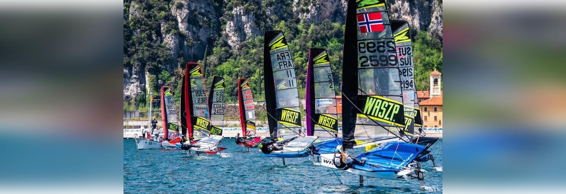 WASZP Europameisterschaften auf dem Weg zur Rekordflotte