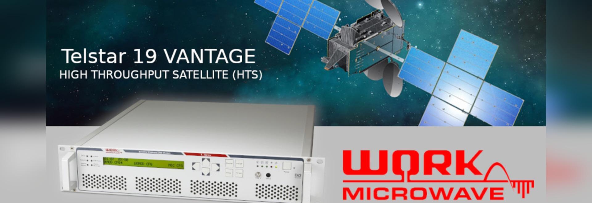 WORK Microwave transformiert maritimes SatCom