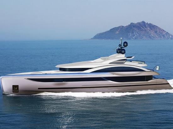 NEU: Groß-yacht mit Swimmingpool durch McMullen u. Flügel