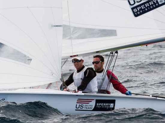 Jordanien-Faktor und Matthew Wefer Seeleute der Männer 470.