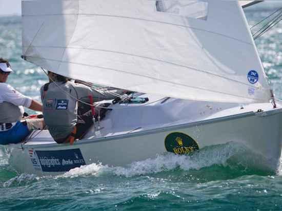 In den Paralympic Kategorien genießt die US-Segeln-Mannschaft Sperry bedeutende Tiefe im Talent und in der Erfahrung. Im Sonar nahmen untauglicher Weltmeister Rick Doerr und Mannschaft Hugh Freund ...