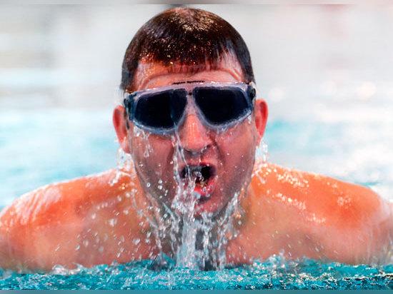 Britische Mannumreißpläne, zum über dem Atlantik zu schwimmen