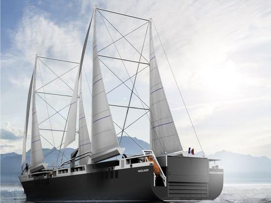 Renault- und Neoline-Partner, zum von stützbar angetriebenen Frachtschiffen zu entwickeln