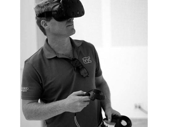 Marinesoldat V360 startet VR-Trainingssimulator