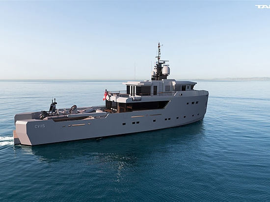 Tansu, zum der 35m Auftrag-Klasse CV115 in Sommer 2019 zu starten