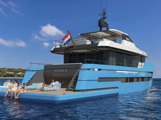 Non-Stop-Erkundung an Bord von Lynx Yachts' Adventure 29