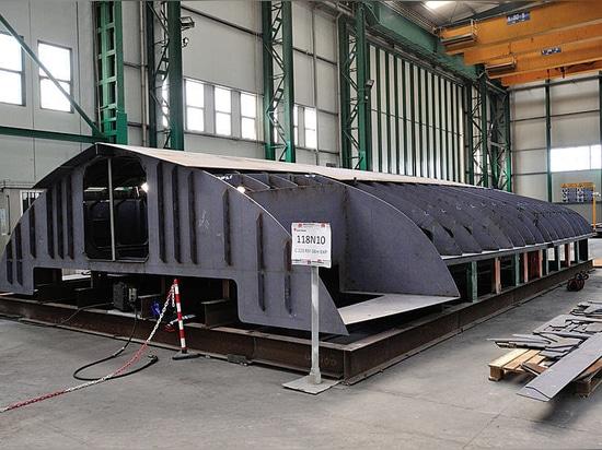 Kiellegung der ersten Rosetti RSY 38 Explorer Yacht
