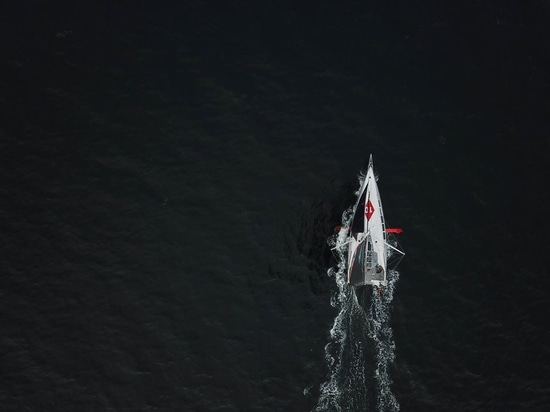 MALIZIA, nach monatelanger Vorbereitung auf die Rennsaison endlich segeln