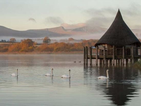 Llangorse, Brecon Beacons, Großbritannien