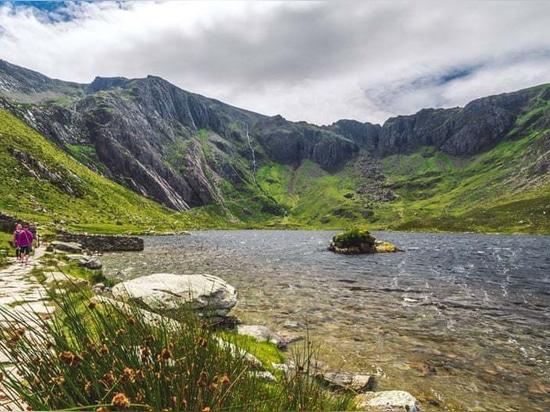Llyn Idwal, Snowdonia, Großbritannien