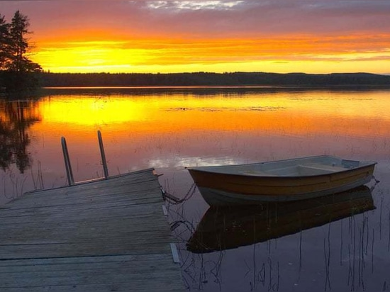 Nedre Noren, Schweden