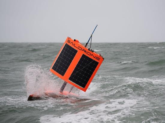 Saildrone schließt erste autonome Umrundung der Antarktis ab