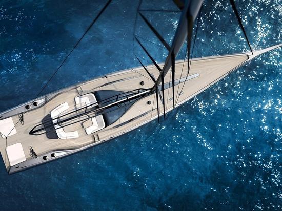 Wally Yachts präsentiert 30,8 Meter lange Segelschleife Wally 101