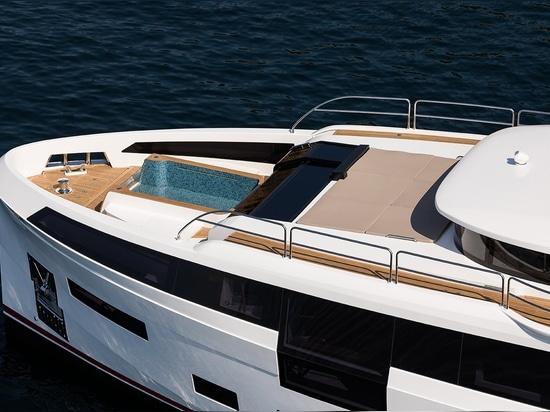 [Neue Bilder] Sirena 88 Flagship Debüts bei den Cannes Yachting Festivals