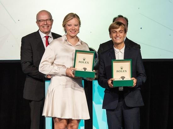 Marco Gradoni wird jüngster Rolex World Sailor of the Year; Anne-Marie Rindom erhält weibliche Auszeichnung