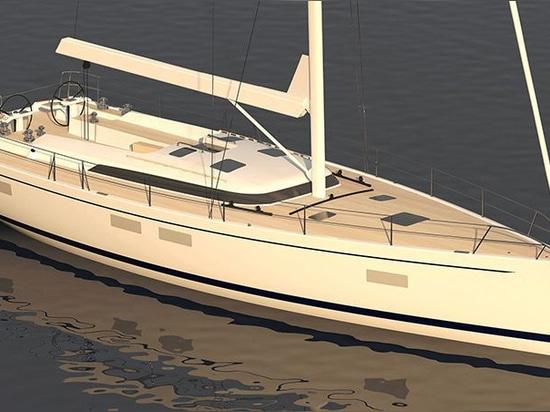 Die Hylas 60 gibt ihr lang erwartetes Debüt auf der 2020 Miami International Boat ShowCourtesy of the Manufacturer