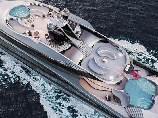Vorstellung der Vripack Futura, einer kühnen neuen Yacht, die das Gesicht des nachhaltigen Designs verändert