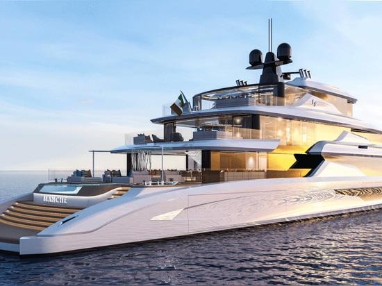 Fincantieri Yachts enthüllt 70-Meter-Superyacht Concept Blanche