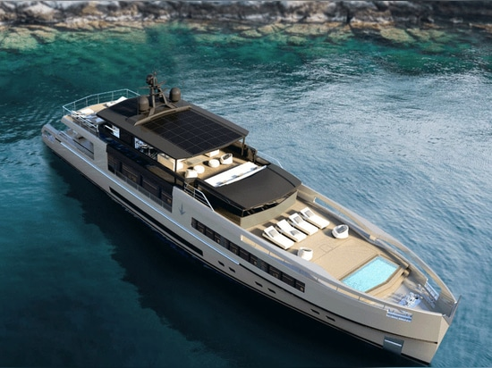 Antonini Navi enthüllt 40-Meter-Modul-Yachtkonzept UP40