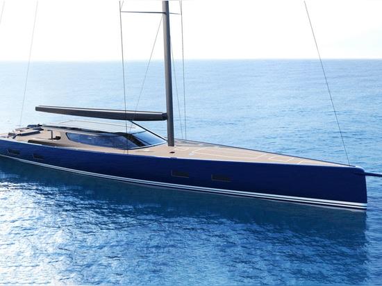 Design Unlimited und Reichel/Pugh Yacht Design enthüllen Segelyacht-Konzept RP42