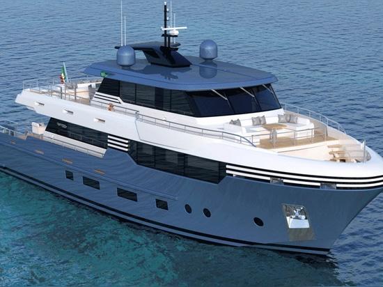 Tommaso Spadolini enthüllt zwei 28,5-Meter-Yachtmodelle