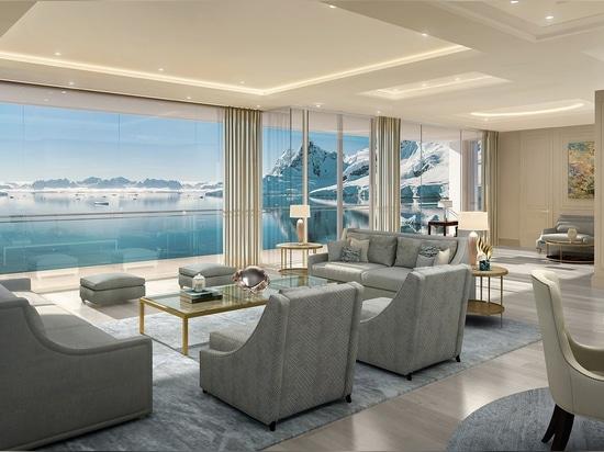 """DIV-Schiffbaugruppe baut eine von Espen Øino entworfene 282 m lange """"Private Residence Yacht"""""""