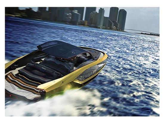 Die Hyperyacht Lambo: Das neue Projekt Lamborghini 63 der Italian Sea Group