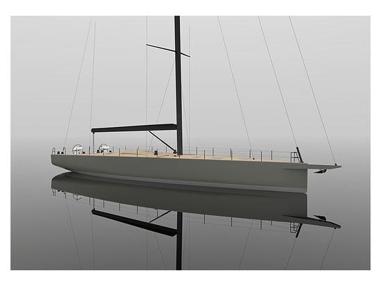 Vismara entwickelt 26m Einbausegeljacht Momi 80