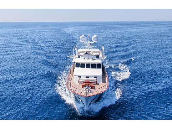 31m Feadship-Motoryacht Blue auf dem Markt