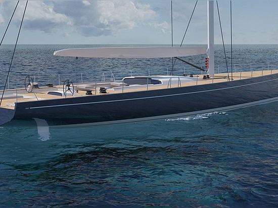 Southern Wind entwickelt 39m-Flaggschiff SW120 Segelyachtkonzept