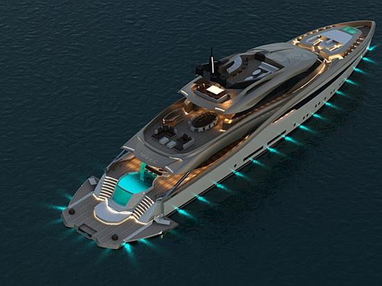 Alpha Marine enthüllt 50m-Kentaurus-Konzept