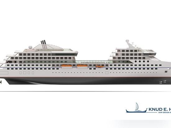 Knud E. Hansen stellt desinfiziertes Expeditionsschiff-Design vor