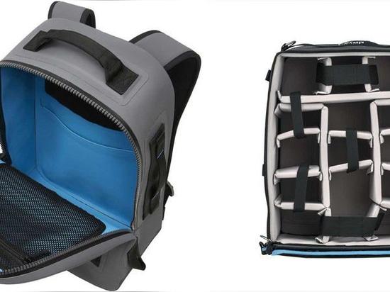 Der F-Stop Gear Large ICU passt gut in den Rucksack des Yeti Panga.