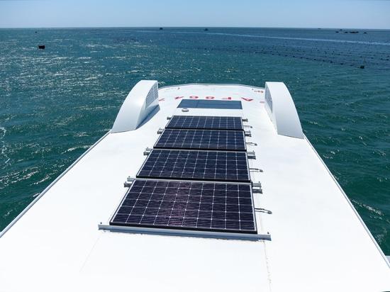 4 Solarpaneele für Batteriebetrieb