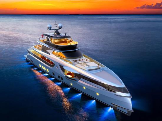 Dynamiq enthüllt erneuertes GTT 165-Yachtprojekt