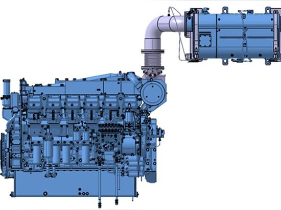 Mitsubishi führt 1.260 PS starken EPA Tier 4-Schiffsmotor ein
