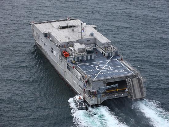 Austal USA liefert EPF 12