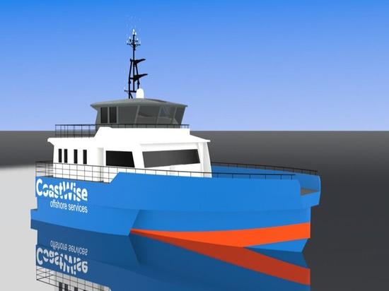 Niederländisches Start-up bestellt innovatives Offshore-Windparkschiff
