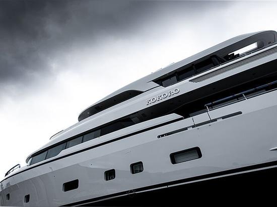 Moonen-Yacht Kokoro vor dem Stapellauf enthüllt