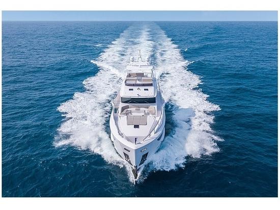 Zweite 29-m-Superyacht Horizon FD92 zu Wasser gelassen